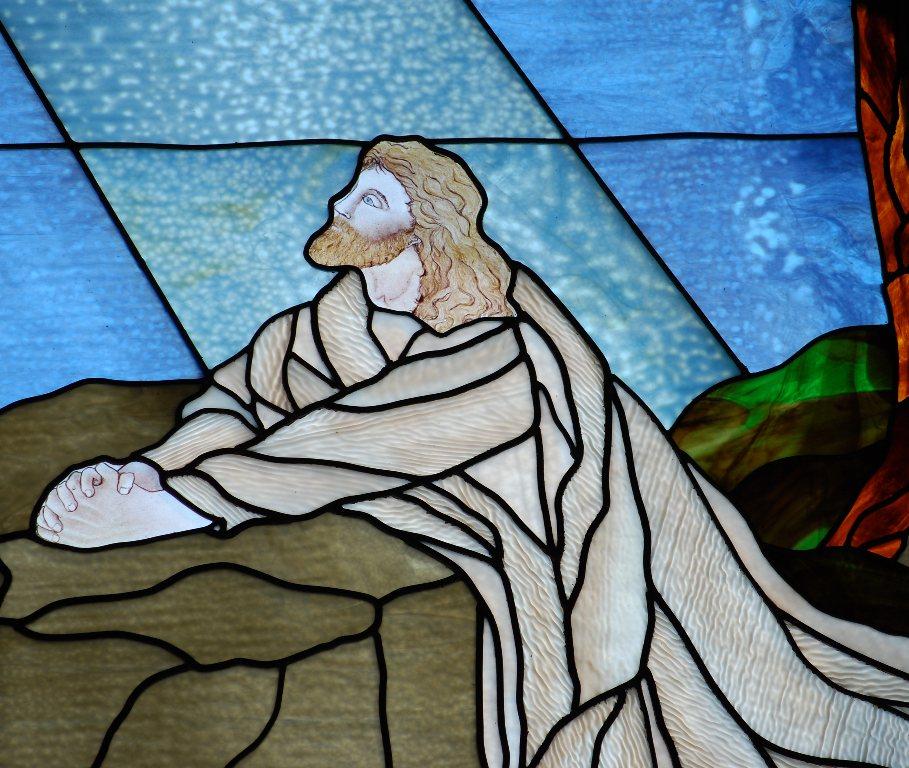 Jesus in Olive Grove
