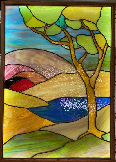 stained glass light box 2