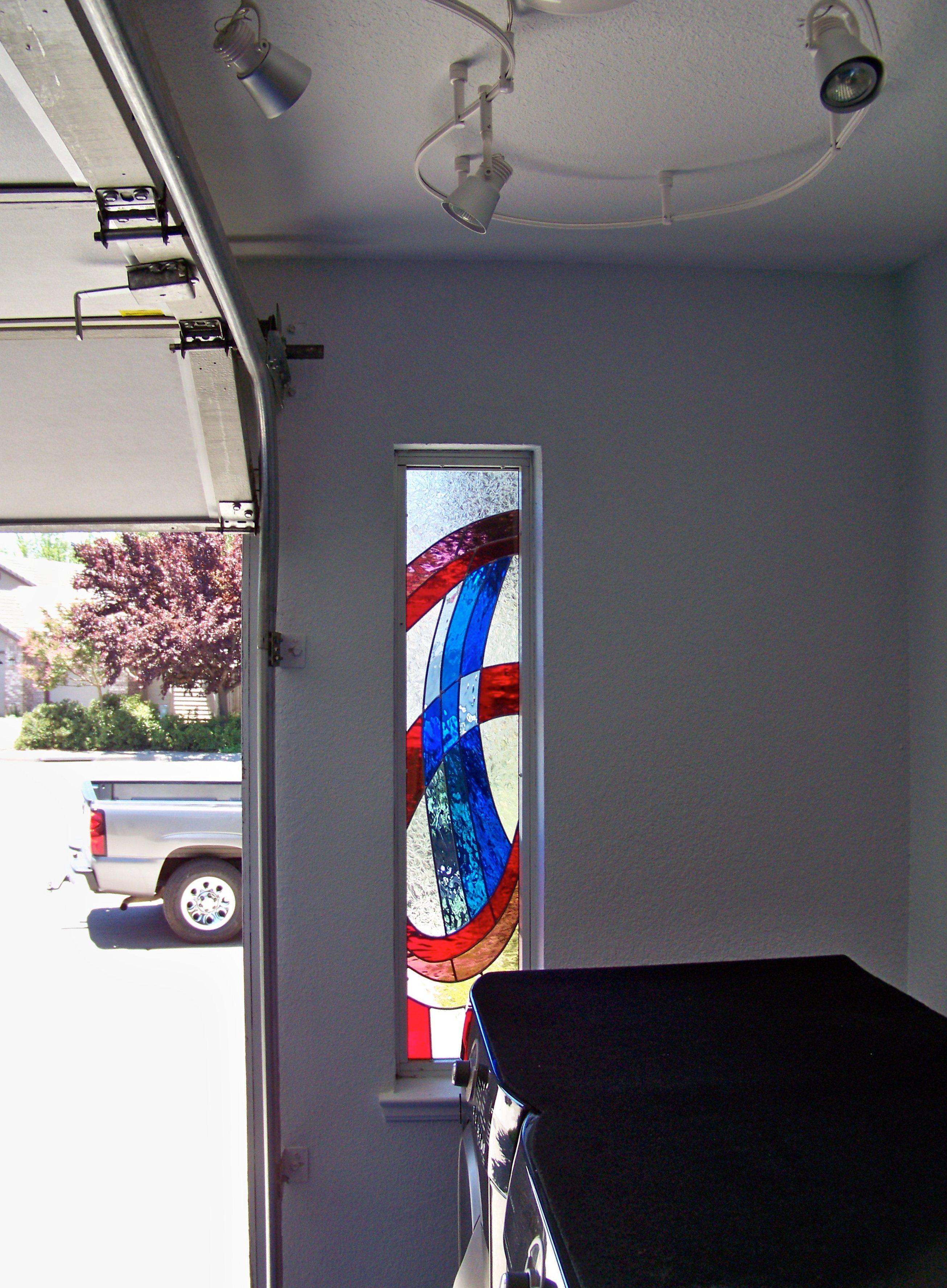 Side Light in a Garage