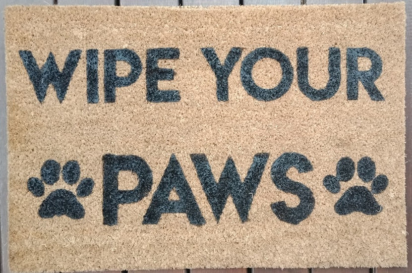 Wipe your Paws