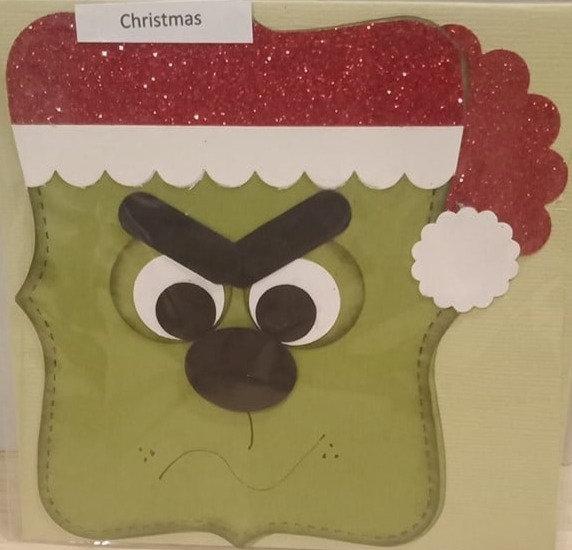 Grinch Christmas Card