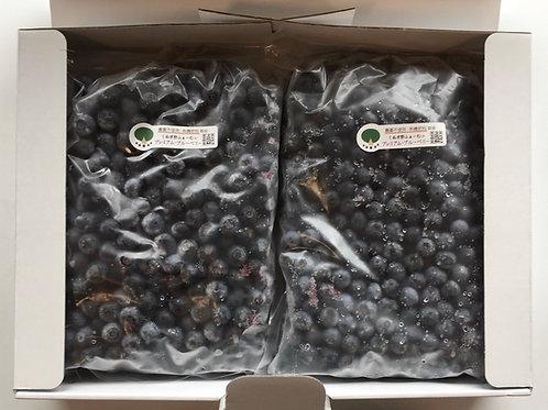 冷凍ブルーベリー2kg