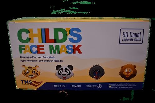 Pediatric Face Mask - Box of 50