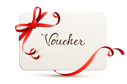 GIFT VOUCHER OF VARYING VALUE