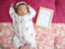 1月1日で1ヶ月になりました★ ベッドからざぶとんに移動してもぐっすり寝てくれます…zz 成長記録として写真も綺麗に撮れました★ 厚めで洗濯も出来て日本製で丁寧なつくりで安心して永く愛用させていただきます。