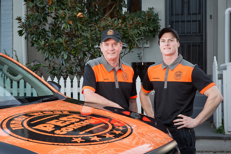 Inner West Pest Control Workers SMiling