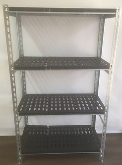 Stainless Steel Angle + ABS Shelves