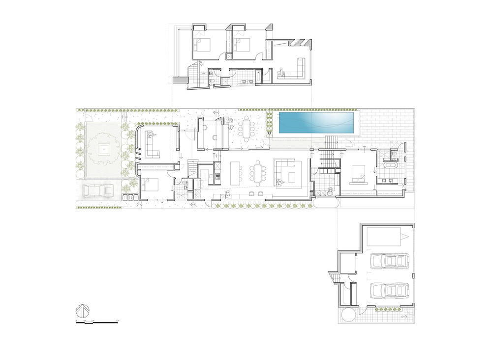Lanigan Architects - Aintree Road Residence - floor plan