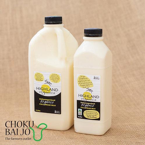 Highland Organic Milk