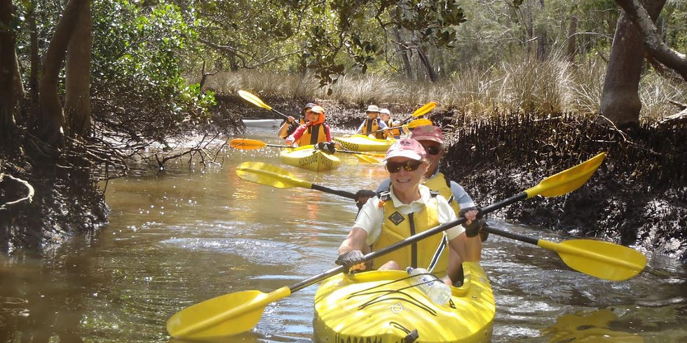 NEW! Do the double at Clontarf. 2 paddles exploring Middle Harbour from Sailors Bay to Balmoral