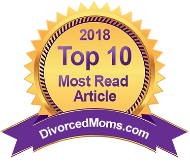 divorced moms badge - top 10 most read articles