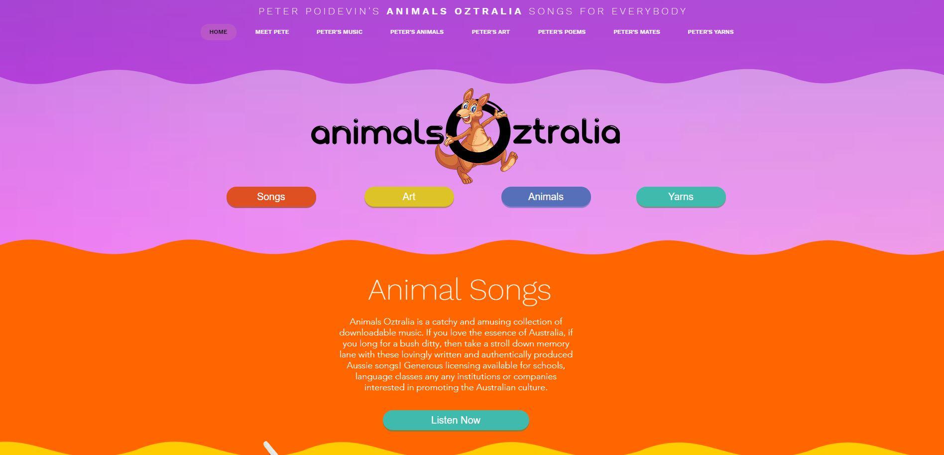 Kid's Content Site