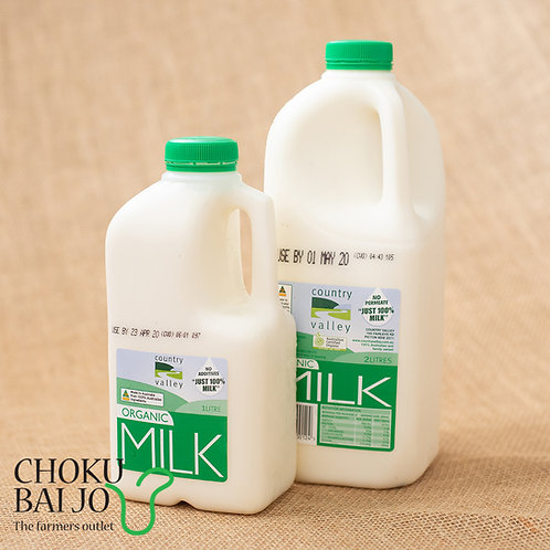 Country Valley Organic Milk