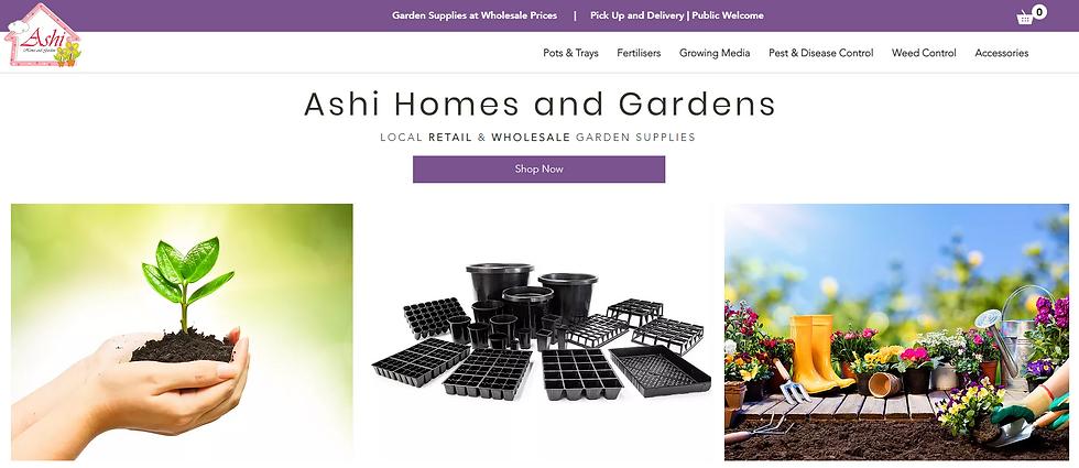 Ashi Homes & Gardens