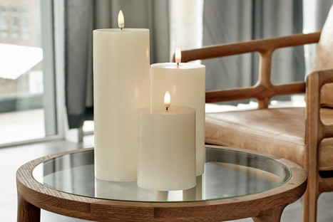 Classic Ivory Flameless Candles