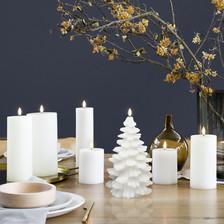 candle set for christmas