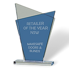 Makesafe Security Screes NSW Retailer of the year award