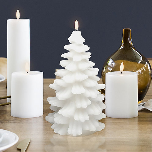 Nordic White Christmas Tree