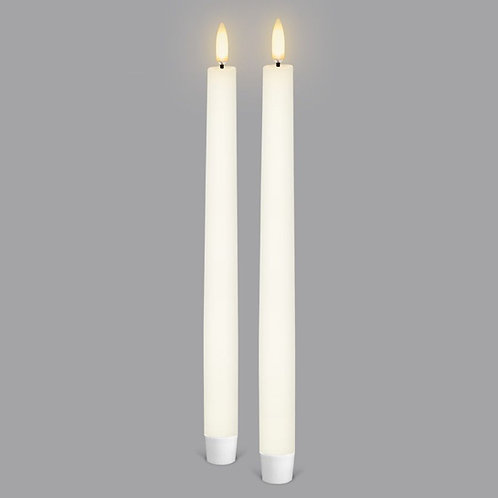 Classic Ivory Taper Tall (2 pack)