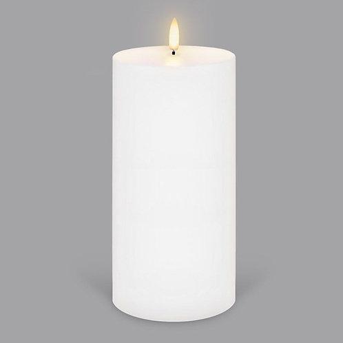 Nordic White Tall Pillar Wide