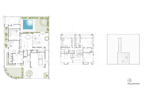 Valley Road Floorplan - Lanigan Architects