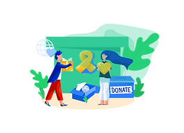 Down to earth care - support worthy caus