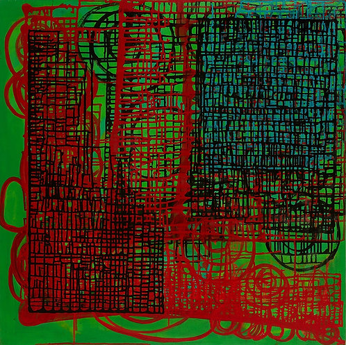 Virginia Baker Woolf - Chinese Gates