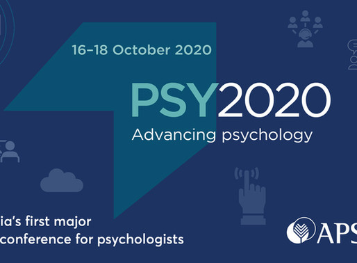 Special Announcement! Ella Tremaine presenting at PSY2020