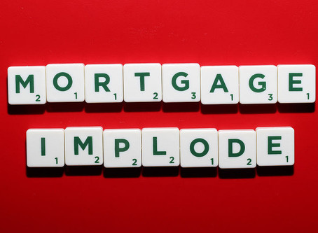 Is your mortgage failing?