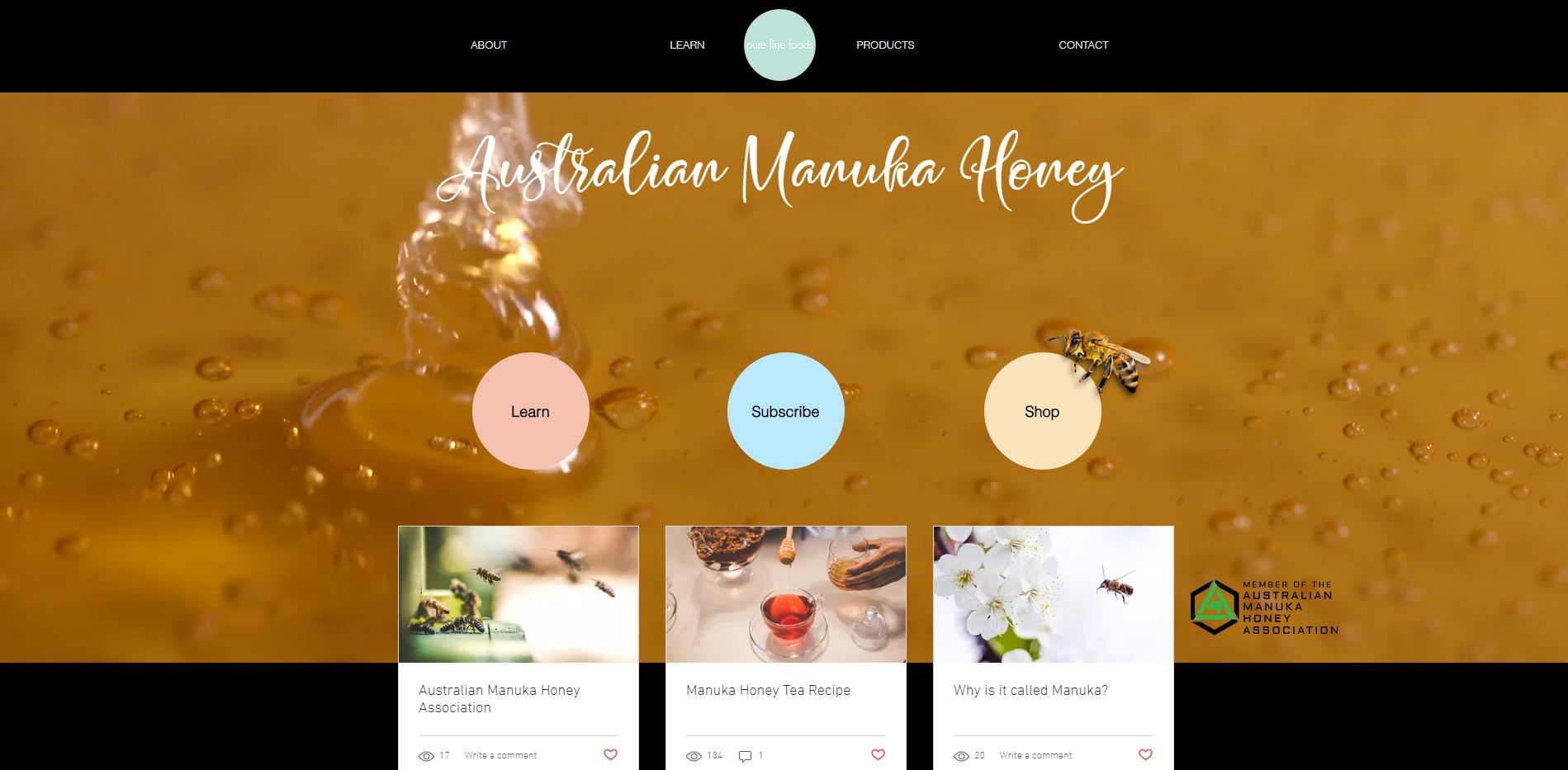 Honey Manufacture