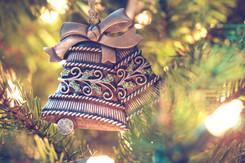 Christmas tree bell decor
