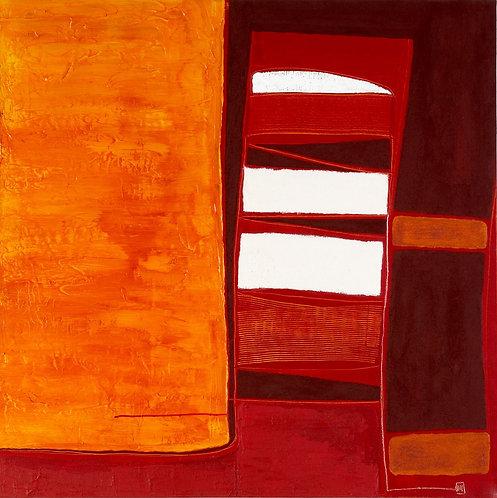Virginia Baker Woolf - Desert Frost