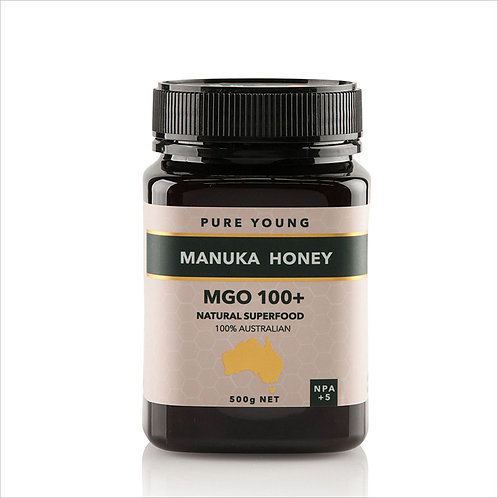 Manuka Honey MGO 100+ 100% Australian  NPA 5+  500g