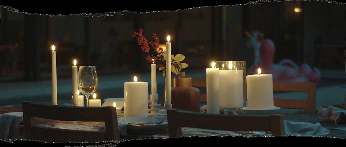 Flameless Candles Sydney Romantic Table