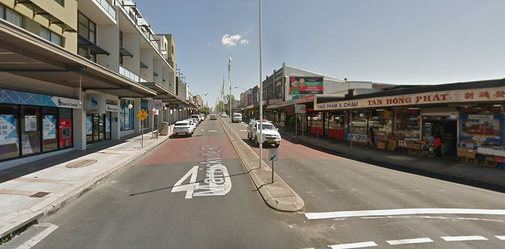 Marrickville Road & Victoria Road  Intersection 40 zone honeycomb