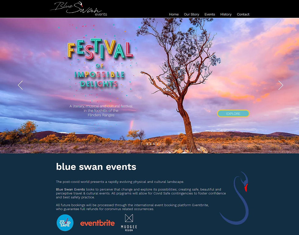 Blue Swan Events