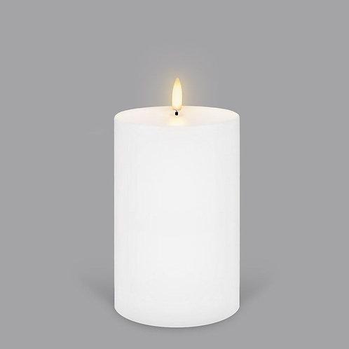 Nordic White Medium Pillar Wide