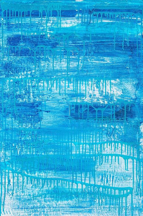 Virginia Baker Woolf - Blue Cascade