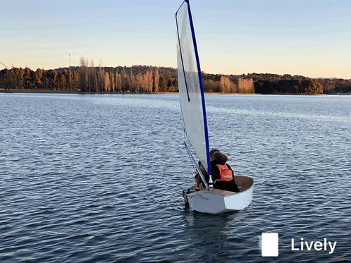 Sail Kit for 8' Pram