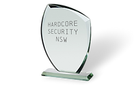 Makesafe Security Screes HardcorRetailer of the year award