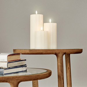 Flameless Candles - Classic Ivory