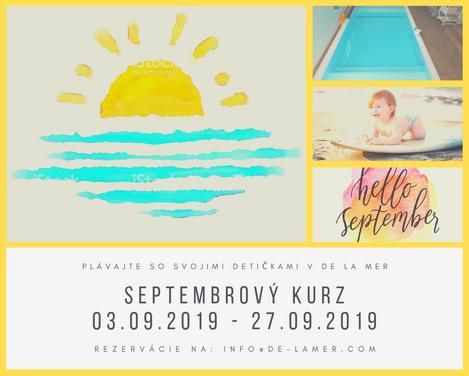 Septemberový kurz 27.08.2019 - 20.09.201