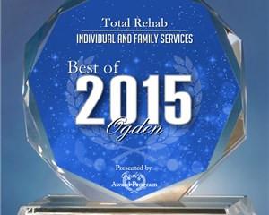 Total Rehab Receives 2015 Best of Ogden Award