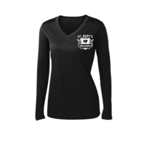Adult - Sport-Tek® Ladies Long Sleeve PosiCharge® Competitor™ V-Neck Tee