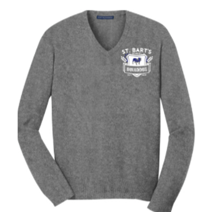 Adult - Port Authority V-Neck Sweater