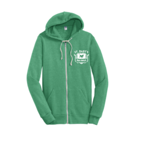Adults - Alternative Rocky Eco™-Fleece Zip Hoodie
