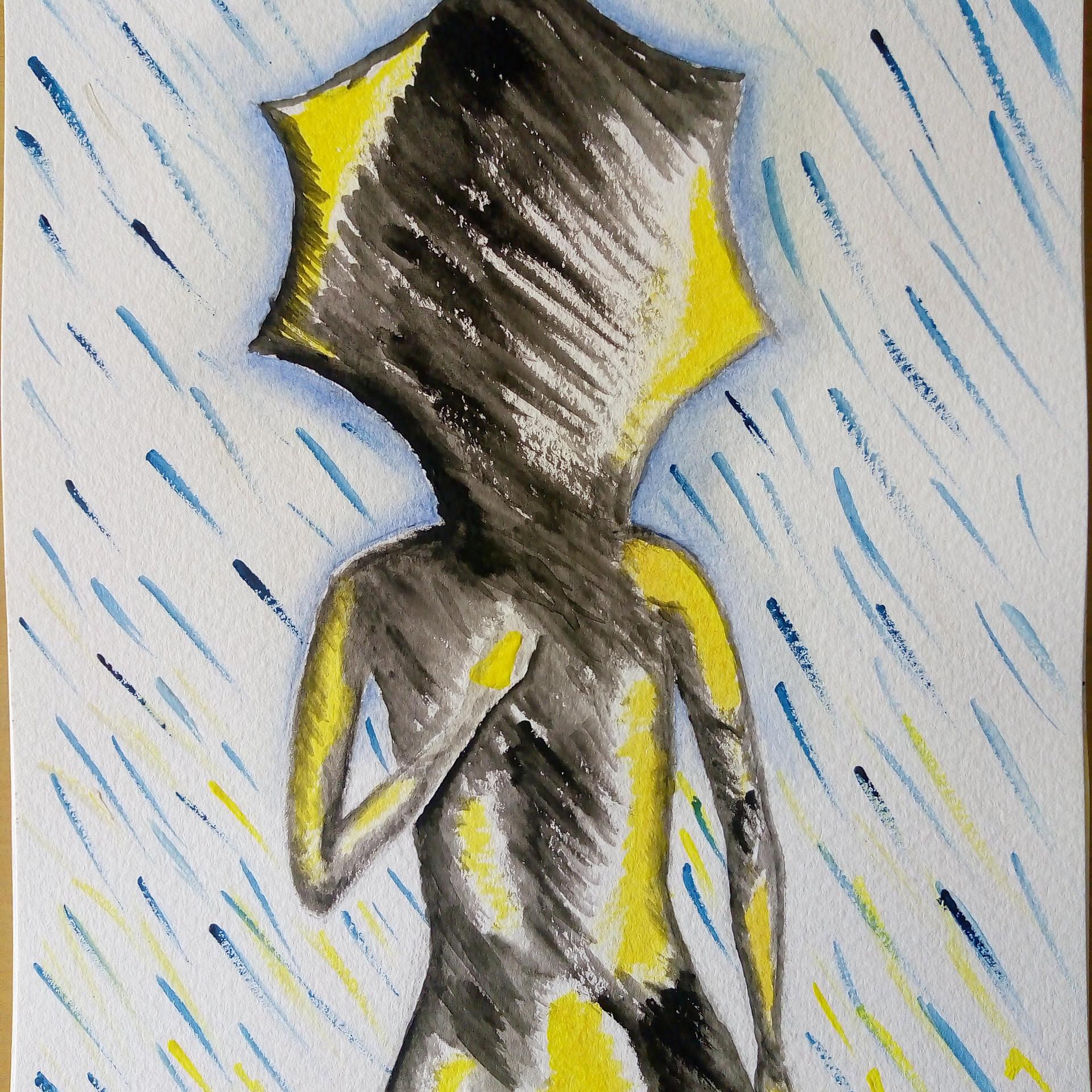Alma en la lluvia