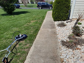 """<img src=""""surface cleaner.png"""" alt=""""using a circular pressure washer on sidewalk"""">"""