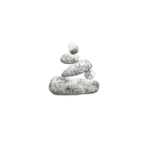 Original Illustration of Balanced Zen pebbles –AFIREfi approache is adaptable to you lifestyle