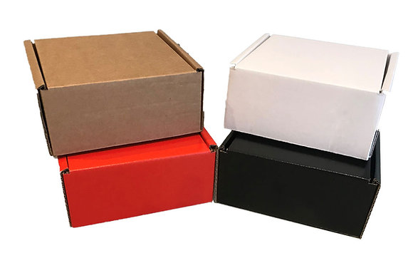 Small Cardboard Boxes for Posting - Pack of 50